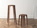 Drewniane stołki