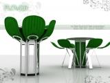 Stół-kwiat stworzony przez Fatih Can Sarioz