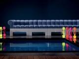 Zabawna i elastyczna sofa