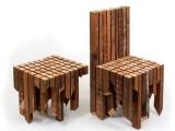 Krzesło z recyclingu