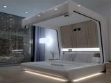 Łóżko z najnowszymi technologiami