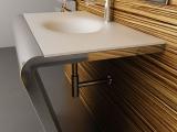 Szykowna nowoczesna łazienka