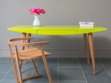 Nowoczesne kolorowe biurko