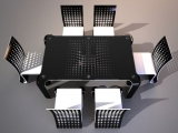 Ergonomiczny zestaw stołowy