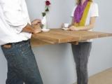 Stół montowany do ściany
