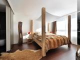 Szykowna sypialnia, ekstrawagancki projekt
