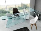 Biurko ze szkła