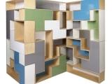 Modne półki modułowe Tetris